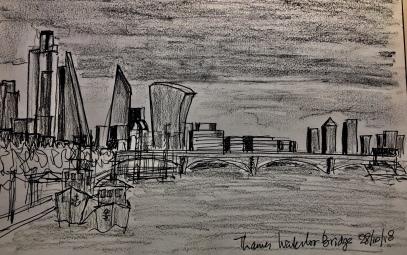 Ontwerp 2 Waterloo Bridge London by night